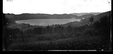 George Bradford Brainerd (American, 1845-1887). <em>Rockland Lake, New York</em>, ca. 1872-1887. Collodion silver glass wet plate negative Brooklyn Museum, Brooklyn Museum/Brooklyn Public Library, Brooklyn Collection, 1996.164.2-1293 (Photo: Brooklyn Museum, 1996.164.2-1293_bw_glass_SL4.jpg)