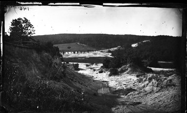 George Bradford Brainerd (American, 1845-1887). <em>Clay Bed, East Neck, Long Island</em>, ca. 1872-1887. Collodion silver glass wet plate negative Brooklyn Museum, Brooklyn Museum/Brooklyn Public Library, Brooklyn Collection, 1996.164.2-146 (Photo: Brooklyn Museum, 1996.164.2-146_glass_bw_SL4.jpg)