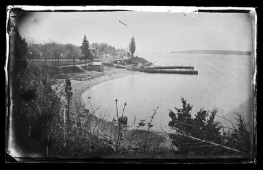 George Bradford Brainerd (American, 1845-1887). <em>Owls Head, Bay Ridge, Brooklyn</em>, ca. 1872-1887. Collodion silver glass wet plate negative Brooklyn Museum, Brooklyn Museum/Brooklyn Public Library, Brooklyn Collection, 1996.164.2-167 (Photo: Brooklyn Museum, 1996.164.2-167_glass_IMLS_SL2.jpg)