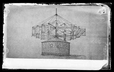 George Bradford Brainerd (American, 1845-1887). <em>Lott's Mill Sketch W.H. Story, Flatbush, Brooklyn</em>, ca. 1872-1887. Collodion silver glass wet plate negative Brooklyn Museum, Brooklyn Museum/Brooklyn Public Library, Brooklyn Collection, 1996.164.2-179 (Photo: Brooklyn Museum, 1996.164.2-179_glass_IMLS_SL2.jpg)