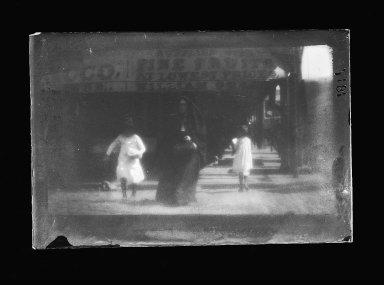 George Bradford Brainerd (American, 1845-1887). <em>Sister of Charity, Brooklyn</em>, ca. 1872-1887. Collodion silver glass wet plate negative Brooklyn Museum, Brooklyn Museum/Brooklyn Public Library, Brooklyn Collection, 1996.164.2-1817 (Photo: Brooklyn Museum, 1996.164.2-1817_glass_IMLS_SL2.jpg)
