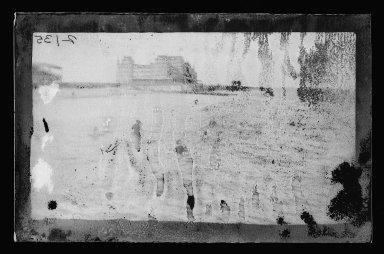 George Bradford Brainerd (American, 1845-1887). <em>Manhattan Bathing, Coney Island, Brooklyn</em>, ca. 1885. Dry negative plate Brooklyn Museum, Brooklyn Museum/Brooklyn Public Library, Brooklyn Collection, 1996.164.2-2135 (Photo: Brooklyn Museum, 1996.164.2-2135_glass_IMLS_SL2.jpg)
