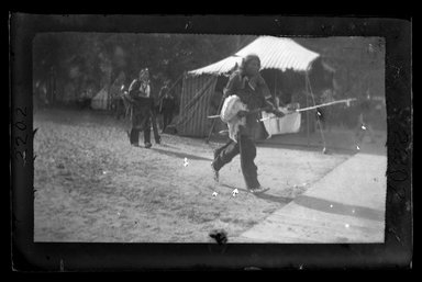 George Bradford Brainerd (American, 1845-1887). <em>Buffalo Bill</em>, 1886. Dry negative plate Brooklyn Museum, Brooklyn Museum/Brooklyn Public Library, Brooklyn Collection, 1996.164.2-2202 (Photo: Brooklyn Museum, 1996.164.2-2202_bw_SL4.jpg)