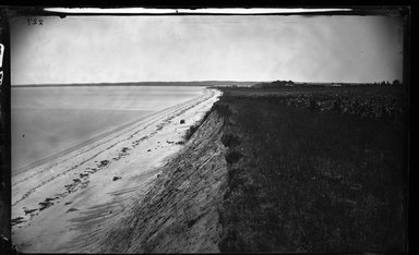 George Bradford Brainerd (American, 1845-1887). <em>East Shore, Eaton Neck, Long Island</em>, ca. 1872-1887. Collodion silver glass wet plate negative Brooklyn Museum, Brooklyn Museum/Brooklyn Public Library, Brooklyn Collection, 1996.164.2-227 (Photo: Brooklyn Museum, 1996.164.2-227_glass_bw_SL4.jpg)
