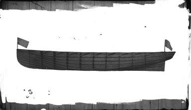 George Bradford Brainerd (American, 1845-1887). <em>Mr. Kerryans Boat</em>, ca. 1872-1887. Collodion silver glass wet plate negative Brooklyn Museum, Brooklyn Museum/Brooklyn Public Library, Brooklyn Collection, 1996.164.2-251 (Photo: Brooklyn Museum, 1996.164.2-251_glass_bw_SL4.jpg)