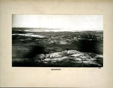 George Bradford Brainerd (American, 1845-1887). <em>Newport, Rhode Island</em>, ca. 1872-1887. Collodion silver glass wet plate negative Brooklyn Museum, Brooklyn Museum/Brooklyn Public Library, Brooklyn Collection, 1996.164.2-281 (Photo: Brooklyn Museum, 1996.164.2-281.jpg)