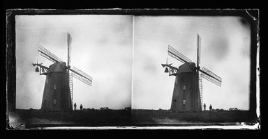 George Bradford Brainerd (American, 1845-1887). <em>Topping's Wind Mill, Hayground, Long Island</em>, August 1878. Collodion silver glass wet plate negative Brooklyn Museum, Brooklyn Museum/Brooklyn Public Library, Brooklyn Collection, 1996.164.2-559 (Photo: Brooklyn Museum, 1996.164.2-559_SL1.jpg)