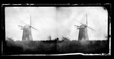 George Bradford Brainerd (American, 1845-1887). <em>Topping's Windmill, Hayground, Long Island</em>, 1878. Collodion silver glass wet plate negative Brooklyn Museum, Brooklyn Museum/Brooklyn Public Library, Brooklyn Collection, 1996.164.2-571 (Photo: Brooklyn Museum, 1996.164.2-571_SL1.jpg)
