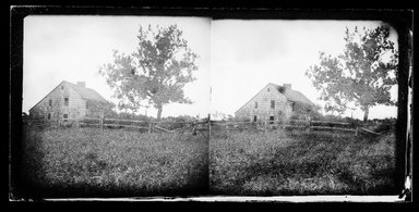 George Bradford Brainerd (American, 1845-1887). <em>Corwith House, Bridgehampton, Long Island</em>, ca. 1872-1887. Collodion silver glass wet plate negative Brooklyn Museum, Brooklyn Museum/Brooklyn Public Library, Brooklyn Collection, 1996.164.2-604 (Photo: Brooklyn Museum, 1996.164.2-604_SL1.jpg)