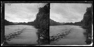 George Bradford Brainerd (American, 1845-1887). <em>Down River at Guymards, Navesink, New Jersey</em>, ca. 1872-1887. Collodion silver glass wet plate negative Brooklyn Museum, Brooklyn Museum/Brooklyn Public Library, Brooklyn Collection, 1996.164.2-900 (Photo: Brooklyn Museum, 1996.164.2-900_glass_bw_SL1.jpg)