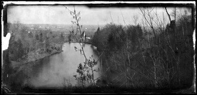 George Bradford Brainerd (American, 1845-1887). <em>Pond, Hohokus, New Jersey</em>, ca. 1872-1887. Collodion silver glass wet plate negative Brooklyn Museum, Brooklyn Museum/Brooklyn Public Library, Brooklyn Collection, 1996.164.2-906 (Photo: Brooklyn Museum, 1996.164.2-906_SL1.jpg)