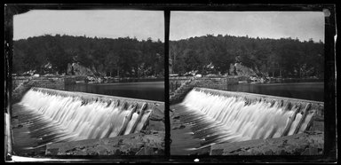 George Bradford Brainerd (American, 1845-1887). <em>Dam, Ramapo, New York</em>, May 28, 1876. Collodion silver glass wet plate negative Brooklyn Museum, Brooklyn Museum/Brooklyn Public Library, Brooklyn Collection, 1996.164.2-909 (Photo: Brooklyn Museum, 1996.164.2-909_SL1.jpg)