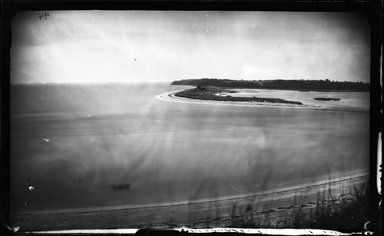 George Bradford Brainerd (American, 1845-1887). <em>Mouth of the Nissequogue River, St. Johnland, Long Island</em>, ca. 1872-1887. Collodion silver glass wet plate negative Brooklyn Museum, Brooklyn Museum/Brooklyn Public Library, Brooklyn Collection, 1996.164.2-94 (Photo: Brooklyn Museum, 1996.164.2-94_glass_bw_SL4.jpg)