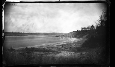 George Bradford Brainerd (American, 1845-1887). <em>Up to the Nissequogue River, St. Johnland, Long Island</em>, ca. 1872-1887. Collodion silver glass wet plate negative Brooklyn Museum, Brooklyn Museum/Brooklyn Public Library, Brooklyn Collection, 1996.164.2-95 (Photo: Brooklyn Museum, 1996.164.2-95_glass_bw_SL4.jpg)