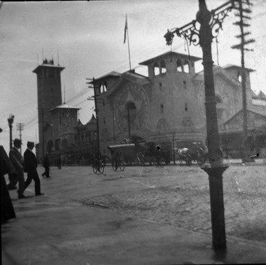 H.S. Lewis. <em>Coney Island Fire</em>, 1903. Negative Brooklyn Museum, Brooklyn Museum/Brooklyn Public Library, Brooklyn Collection, 1996.164.5-6 (Photo: Brooklyn Museum, 1996.164.5-6_SL4.jpg)
