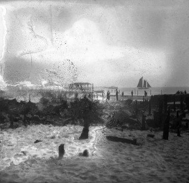 H.S. Lewis. <em>Coney Island Fire</em>, 1903. Negative Brooklyn Museum, Brooklyn Museum/Brooklyn Public Library, Brooklyn Collection, 1996.164.5-8 (Photo: Brooklyn Museum, 1996.164.5-8_SL4.jpg)