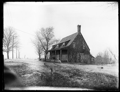 Dr. George S. Ogden (American, active 1900-1915). <em>Schenck House, Built 1656</em>, May 1914. Gelatin silver glass dry plate negative Brooklyn Museum, Brooklyn Museum/Brooklyn Public Library, Brooklyn Collection, 1996.164.6-9 (Photo: Brooklyn Museum, 1996.164.6-9_SL1.jpg)