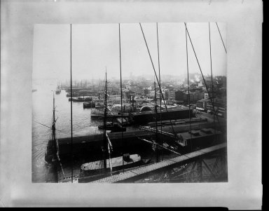 Breading G. Way (American, 1860-1940). <em>[Untitled]</em>, ca. 1888. Cellulose nitrate negative Brooklyn Museum, Brooklyn Museum/Brooklyn Public Library, Brooklyn Collection, 1996.164.9-19 (Photo: Brooklyn Museum, 1996.164.9-19_bw.jpg)