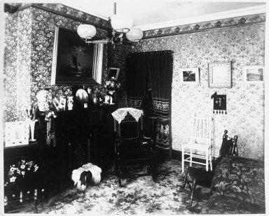 Breading G. Way (American, 1860-1940). <em>[Untitled]</em>, ca. 1888. Cellulose nitrate negative Brooklyn Museum, Brooklyn Museum/Brooklyn Public Library, Brooklyn Collection, 1996.164.9-7 (Photo: Brooklyn Museum, 1996.164.9-7_bw.jpg)