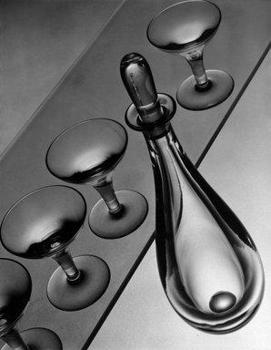 Anton Bruehl (American, born Australia, 1900-1982). <em>Untitled (Glass)</em>, n.d. Gelatin silver photograph, image/sheet: 10 x 7 15/16 in. (25.4 x 20.2 cm). Brooklyn Museum, Gift of Eileen and Michael Cohen, 1996.237.2. © artist or artist's estate (Photo: Brooklyn Museum, 1996.237.2_bw.jpg)