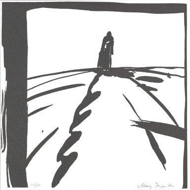 Mary Frank (American, born 1933). <em>[Untitled]</em>, 1995. Letterpress on paper, 6 x 6 in. (15.2 x 15.2 cm). Brooklyn Museum, Alfred T. White Fund, 1996.51.10. © artist or artist's estate (Photo: Brooklyn Museum, 1996.51.10_PS4.jpg)