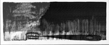 Rona Pondick (American, born 1952). <em>I Want</em>, 1996. Lithograph on paper, sheet: 13 1/16 x 31 1/4 in. (33.2 x 79.4 cm). Brooklyn Museum, Alfred T. White Fund, 1997.11. © artist or artist's estate (Photo: Brooklyn Museum, 1997.11_bw.jpg)