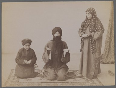 <em>[Untitled],  One of 274 Vintage Photographs</em>, late 19th-early 20th century. Albumen silver photograph, 6 1/8 x 8 3/16 in.  (15.6 x 20.8 cm). Brooklyn Museum, Purchase gift of Leona Soudavar in memory of Ahmad Soudavar, 1997.3.141 (Photo: Brooklyn Museum, 1997.3.141_IMLS_PS3.jpg)