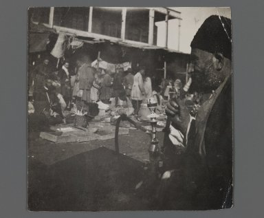 <em>[Untitled], One of 274 Vintage Photographs</em>, late 19th-early 20th century. Gelatin silver printing out paper, 3 3/8 x 3 3/8 in.  (8.5 x 8.5 cm). Brooklyn Museum, Purchase gift of Leona Soudavar in memory of Ahmad Soudavar, 1997.3.198 (Photo: Brooklyn Museum, 1997.3.198_IMLS_PS3.jpg)