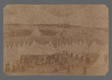 <em>[Untitled],  One of 274 Vintage Photographs</em>, late 19th-early 20th century. Albumen silver photograph, 5 3/8 x 8 1/8 in.  (13.7 x 20.6 cm). Brooklyn Museum, Purchase gift of Leona Soudavar in memory of Ahmad Soudavar, 1997.3.263 (Photo: Brooklyn Museum, 1997.3.263_IMLS_PS3.jpg)
