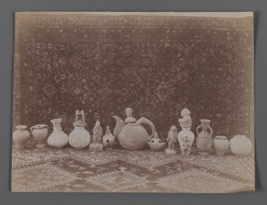 <em>[Untitled],  One of 274 Vintage Photographs</em>, late 19th-early 20th century. Albumen silver photograph, 6 1/8 x 8 1/8 in.  (15.5 x 20.6 cm). Brooklyn Museum, Purchase gift of Leona Soudavar in memory of Ahmad Soudavar, 1997.3.267 (Photo: Brooklyn Museum, 1997.3.267_IMLS_PS3.jpg)
