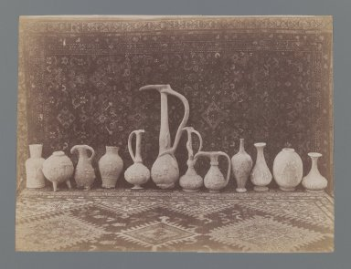 <em>[Untitled],  One of 274 Vintage Photographs</em>, late 19th-early 20th century. Albumen silver photograph, 6 1/8 x 8 1/8 in.  (15.5 x 20.6 cm). Brooklyn Museum, Purchase gift of Leona Soudavar in memory of Ahmad Soudavar, 1997.3.268 (Photo: Brooklyn Museum, 1997.3.268_IMLS_PS3.jpg)
