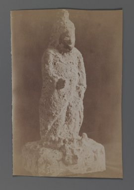 <em>[Untitled],  One of 274 Vintage Photographs</em>, late 19th-early 20th century. Albumen silver photograph, 5 5/8 x 8 7/16 in.  (14.3 x 21.5 cm). Brooklyn Museum, Purchase gift of Leona Soudavar in memory of Ahmad Soudavar, 1997.3.269 (Photo: Brooklyn Museum, 1997.3.269_IMLS_PS3.jpg)