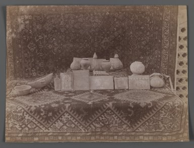 <em>[Untitled],  One of 274 Vintage Photographs</em>, late 19th-early 20th century. Albumen silver photograph, 6 1/8 x 8 1/8 in.  (15.6 x 20.7 cm). Brooklyn Museum, Purchase gift of Leona Soudavar in memory of Ahmad Soudavar, 1997.3.272 (Photo: Brooklyn Museum, 1997.3.272_IMLS_PS3.jpg)