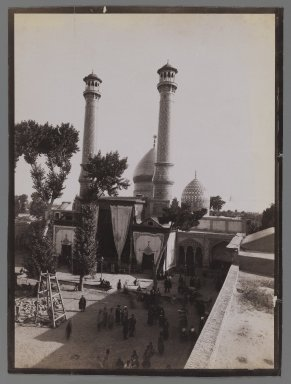 <em>[Untitled], One of 274 Vintage Photographs</em>, late 19th-early 20th century. Photograph, Image: 7 1/16 x 9 7/16 in. (18 x 24 cm). Brooklyn Museum, Purchase gift of Leona Soudavar in memory of Ahmad Soudavar, 1997.3.51 (Photo: Brooklyn Museum, 1997.3.51_IMLS_PS3.jpg)