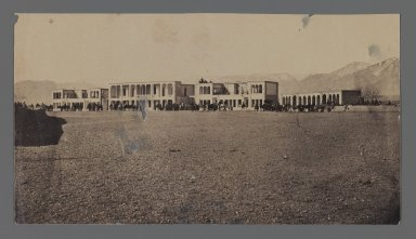 <em>[Untitled], One of 274 Vintage Photographs</em>, late 19th-early 20th century. Photograph, 4 7/16 x 8 1/16 in. (11.2 x 20.5 cm). Brooklyn Museum, Purchase gift of Leona Soudavar in memory of Ahmad Soudavar, 1997.3.67 (Photo: Brooklyn Museum, 1997.3.67_IMLS_PS3.jpg)