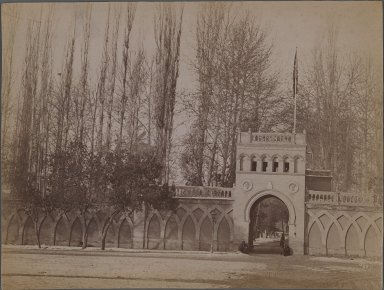 <em>[Untitled], One of 274 Vintage Photographs</em>, late 19th-early 20th century. Photograph, 6 1/8 x 8 1/4 in. (15.6 x 20.9 cm). Brooklyn Museum, Purchase gift of Leona Soudavar in memory of Ahmad Soudavar, 1997.3.78 (Photo: Brooklyn Museum, 1997.3.78_IMLS_PS3.jpg)