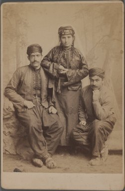 <em>[Untitled], One of 274 Vintage Photographs</em>, late 19th-early 20th century. Photograph, 6 1/2 x 4 5/16 in. (16.5 x 11 cm). Brooklyn Museum, Purchase gift of Leona Soudavar in memory of Ahmad Soudavar, 1997.3.86 (Photo: Brooklyn Museum, 1997.3.86_IMLS_PS3.jpg)
