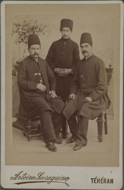 <em>[Untitled], One of 274 Vintage Photographs</em>, late 19th-early 20th century. Photograph, 6 5/16 x 4 5/16 in. (16 x 11 cm). Brooklyn Museum, Purchase gift of Leona Soudavar in memory of Ahmad Soudavar, 1997.3.91 (Photo: Brooklyn Museum, 1997.3.91_IMLS_PS3.jpg)