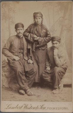<em>[Untitled], One of 274 Vintage Photographs</em>, late 19th-early 20th century. Photograph, 6 5/8 x 4 5/16 in. (16.8 x 11 cm). Brooklyn Museum, Purchase gift of Leona Soudavar in memory of Ahmad Soudavar, 1997.3.92 (Photo: Brooklyn Museum, 1997.3.92_IMLS_PS3.jpg)