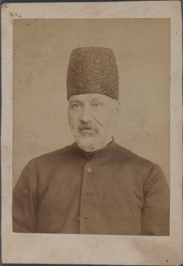 <em>[Untitled], One of 274 Vintage Photographs</em>, late 19th-early 20th century. Photograph, 6 1/2 x 4 1/2 in. (16.5 x 11.5 cm). Brooklyn Museum, Purchase gift of Leona Soudavar in memory of Ahmad Soudavar, 1997.3.96 (Photo: Brooklyn Museum, 1997.3.96_IMLS_PS3.jpg)