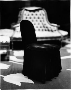 Jean Kallina (American, born 1956). <em>Paris, Hughes Apartment</em>, 1989. Gelatin silver photograph, sheet: 20 x 16 in. (50.8 x 40.6 cm). Brooklyn Museum, Gift of the artist and Bonni Benrubi, 1997.92. © artist or artist's estate (Photo: Brooklyn Museum, 1997.92_bw.jpg)