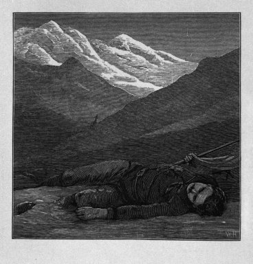 "Winslow Homer (American, 1836-1910). <em>""There in the twilight cold and  gray, / Lifeless, but beautiful, he lay,""</em> 1878. Wood engraving, Image: 3 1/8 x 3 1/4 in. (7.9 x 8.3 cm). Brooklyn Museum, Gift of Harvey Isbitts, 1998.105.201 (Photo: Brooklyn Museum, 1998.105.201_bw.jpg)"