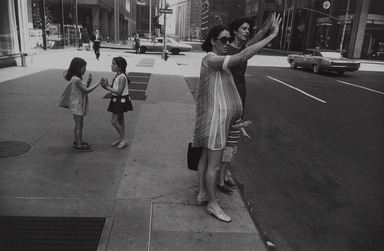 Garry Winogrand (American, 1928-1984). <em>New York City, NY</em>, 1969. Gelatin silver photograph on fiber based paper, Sheet: 11 x 14 in. (27.9 x 35.6 cm). Brooklyn Museum, Gift of Robert L. Smith, 1998.119.5. © artist or artist's estate (Photo: , 1998.119.5_PS9.jpg)