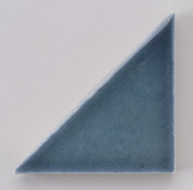 International Tile Company. <em>Tile</em>, 1882-1888. Earthenware, 1/2 x 4 1/8 x 2 1/8 in. (1.3 x 10.5 x 5.4 cm). Brooklyn Museum, Gift of Susan I. Padwee in honor of Dr. Barry R. Harwood, 1998.149.5. Creative Commons-BY (Photo: Brooklyn Museum, 1998.149.5.jpg)