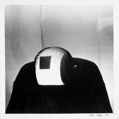 Andrey Chezhin (Russian, born 1960). <em>Black Square series</em>, 1988. Gelatin silver photographs, 23 1/2 x 19 3/4 in.  (59.7 x 50.2 cm). Brooklyn Museum, Gift of Wallace B. Putnam from the Estate of Consuelo Kanaga, by exchange, 1999.121.5a-d. © artist or artist's estate (Photo: Brooklyn Museum, 1999.121.5a_bw.jpg)