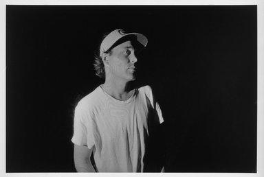 Larry Fink (American, born 1941). <em>George Cooper, Martin's Creek, PA</em>, 1983. Gelatin silver photograph, image: 12 1/4 x 18 1/4 in. (31.1 x 46.4 cm). Brooklyn Museum, Gift of Margaret Cammer, 1999.126. © artist or artist's estate (Photo: Brooklyn Museum, 1999.126_bw.jpg)