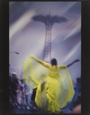 Lynn Hyman Butler (American, born 1953). <em>Untitled, Coney Island Series</em>, 1996. Cibachrome print, 14 x 11 in.  (35.6 x 27.9 cm). Brooklyn Museum, Gift of the artist, 1999.13.1. © artist or artist's estate (Photo: Brooklyn Museum, 1999.13.1_PS4.jpg)