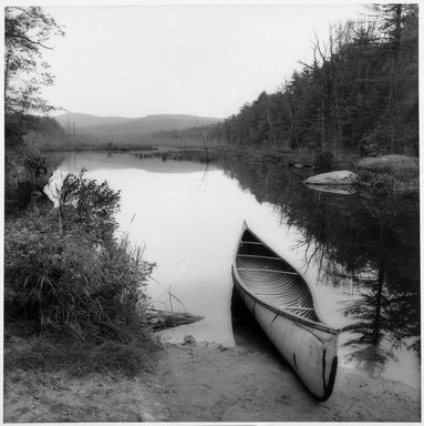 Sally Gall (American, born 1956). <em>Canoe</em>, 1990. Toned gelatin silver photograph, image: 15 x 15 in. (38.1 x 38.1 cm). Brooklyn Museum, Gift of Gerald Lotenberg, 1999.150.2. © artist or artist's estate (Photo: Brooklyn Museum, 1999.150.2_bw.jpg)