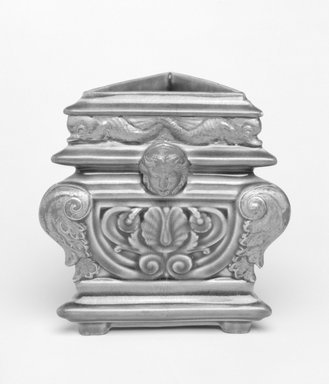 Worcester Royal Porcelain Co. (founded 1751). <em>Vase</em>, ca. 1880. Porcelain, 4 1/2 x 3 x 3 in. Brooklyn Museum, Gift of the Estate of Harold S. Keller, 1999.152.68. Creative Commons-BY (Photo: Brooklyn Museum, 1999.152.68_bw.jpg)