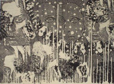 Kiki Smith (American, born Germany, 1954). <em>[Untitled]</em>, 1991. Lithograph, 22 1/2 x 30 1/2 in.  (57.2 x 77.5 cm). Brooklyn Museum, Emily Winthrop Miles Fund, 1999.17.12. © artist or artist's estate (Photo: Brooklyn Museum, 1999.17.12.jpg)